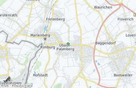 Stadtplan Übach-Palenberg