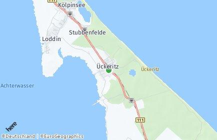 Stadtplan Ückeritz