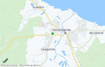 Stadtplan Ueckermünde