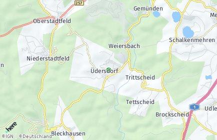 Stadtplan Üdersdorf