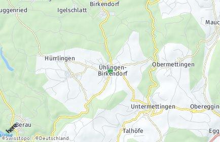 Stadtplan Ühlingen-Birkendorf