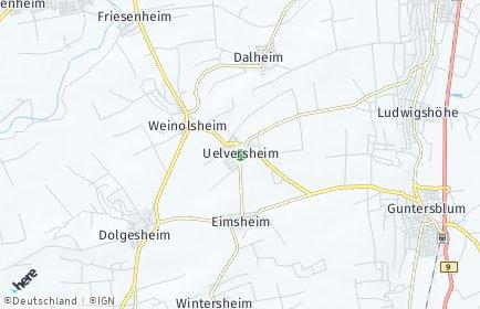 Stadtplan Uelversheim