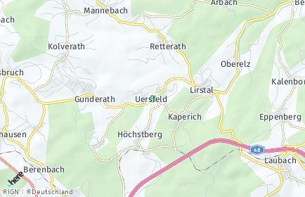 Stadtplan Uersfeld