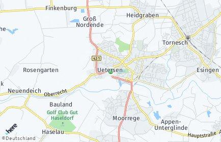 Stadtplan Uetersen