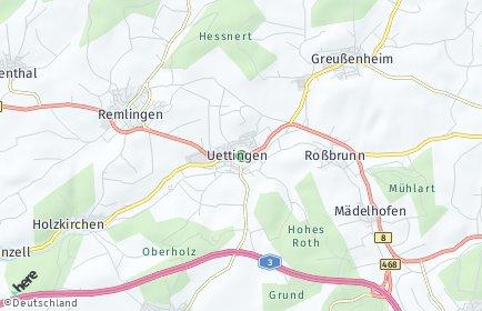 Stadtplan Uettingen