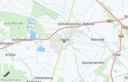 Stadtplan Uetze