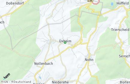 Stadtplan Üxheim