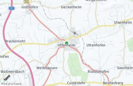 Stadtplan Uffenheim