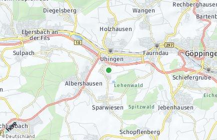 Stadtplan Uhingen