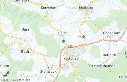 Stadtplan Uhler