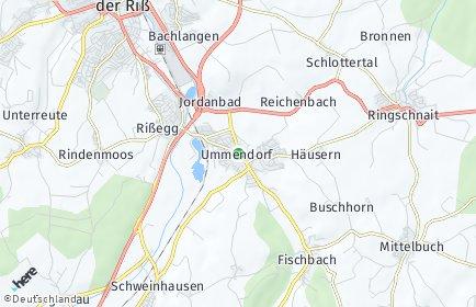 Plz Ummendorf Bei Biberach Mit Postleitzahlen 88444 Deutschland