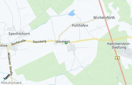 Stadtplan Ummern