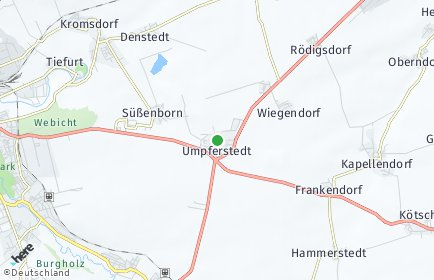 Stadtplan Umpferstedt