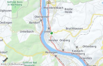 Stadtplan Unkel