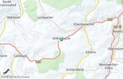 Stadtplan Unkenbach