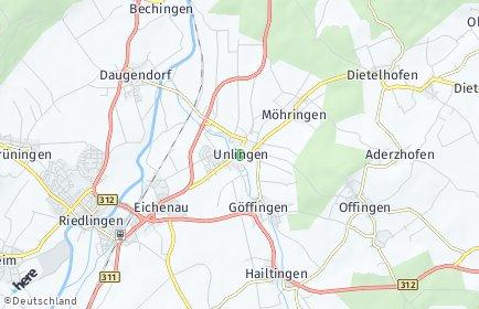 Stadtplan Unlingen