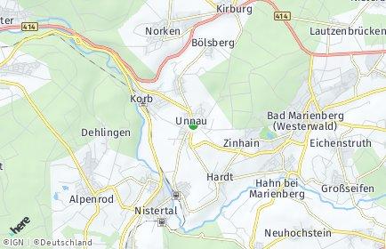 Stadtplan Unnau