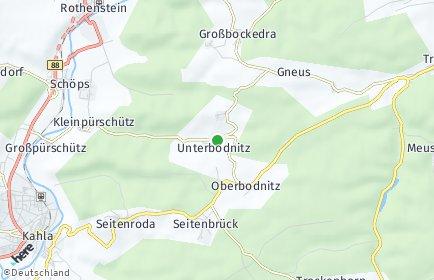Stadtplan Unterbodnitz