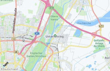 Stadtplan Unterföhring