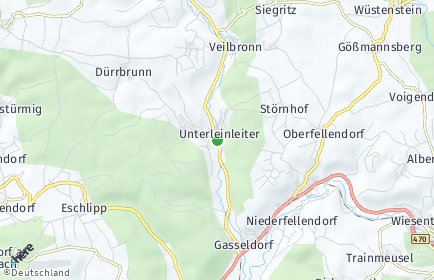 Stadtplan Unterleinleiter