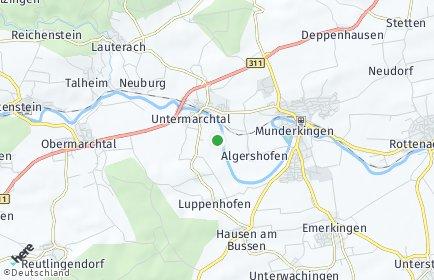 Stadtplan Untermarchtal