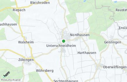 Stadtplan Unterschneidheim