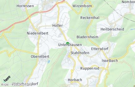 Stadtplan Untershausen
