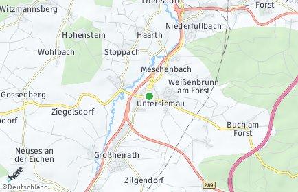Stadtplan Untersiemau