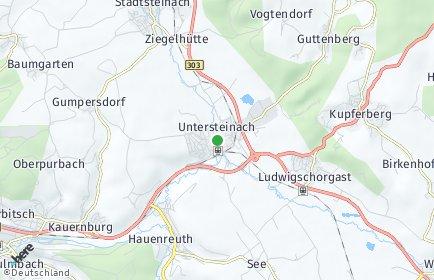 Stadtplan Untersteinach