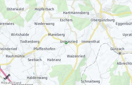 Stadtplan Untrasried