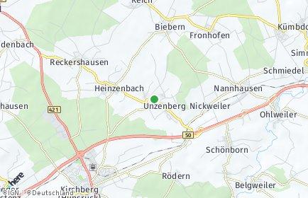 Stadtplan Unzenberg