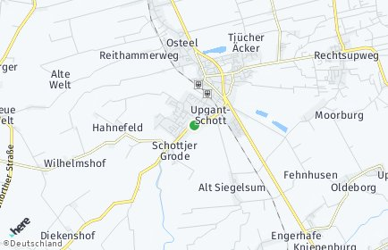 Stadtplan Upgant-Schott