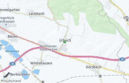 Stadtplan Urbach (Thüringen)