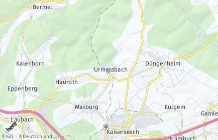 Stadtplan Urmersbach