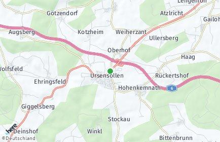 Stadtplan Ursensollen