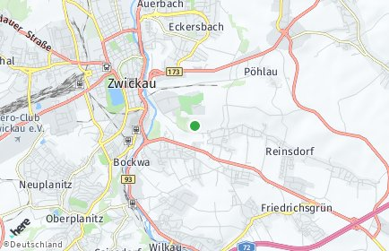 Stadtplan Zwickau