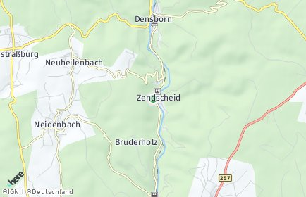 Stadtplan Usch