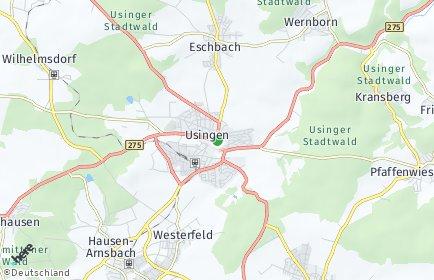 Stadtplan Usingen