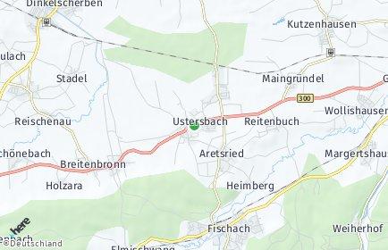 Stadtplan Ustersbach