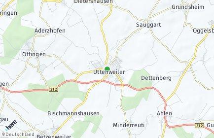 Stadtplan Uttenweiler