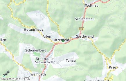 Stadtplan Utzenfeld