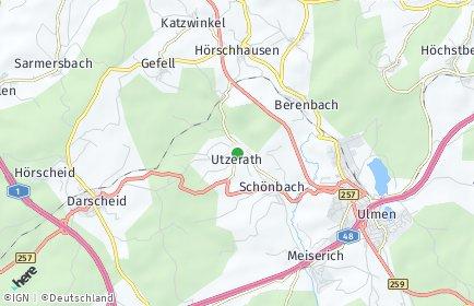 Stadtplan Utzerath