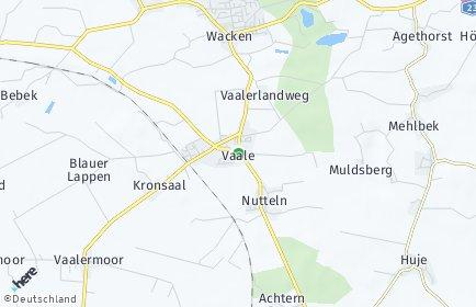 Stadtplan Vaale