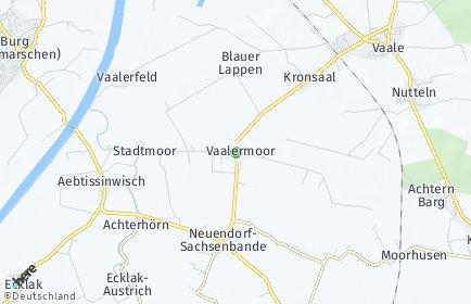 Stadtplan Vaalermoor