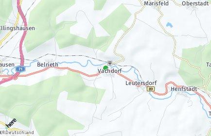 Stadtplan Vachdorf