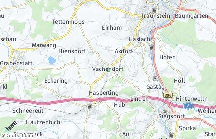 Stadtplan Vachendorf