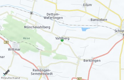 Stadtplan Vahlberg
