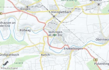 Stadtplan Vaihingen an der Enz