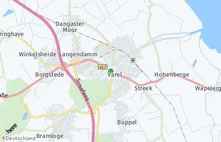 Stadtplan Varel