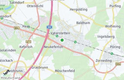 Stadtplan Vaterstetten